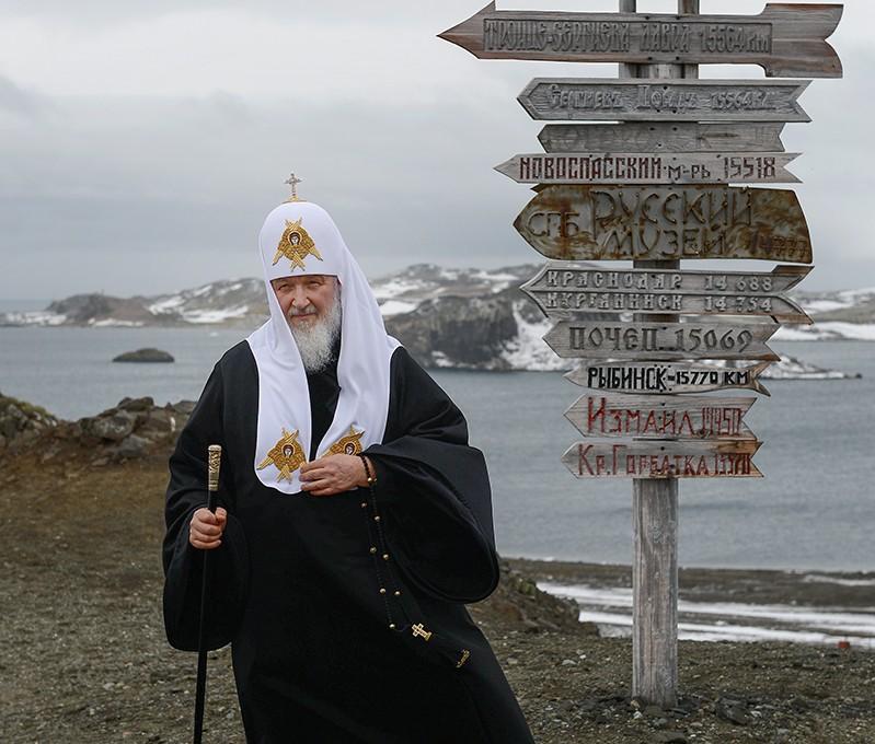 Святейший Патриарх Кирилл посетил российскую антарктическую станцию «Беллинсгаузен»