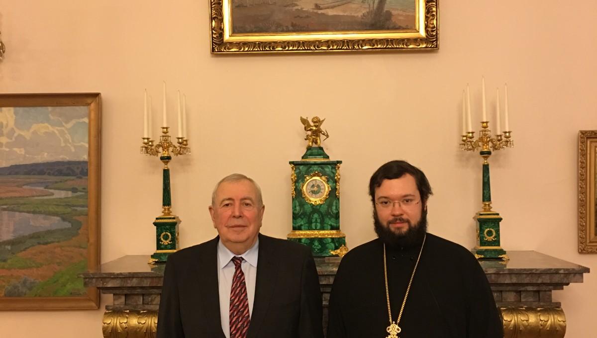 Встреча с Послом РФ в Финляндии