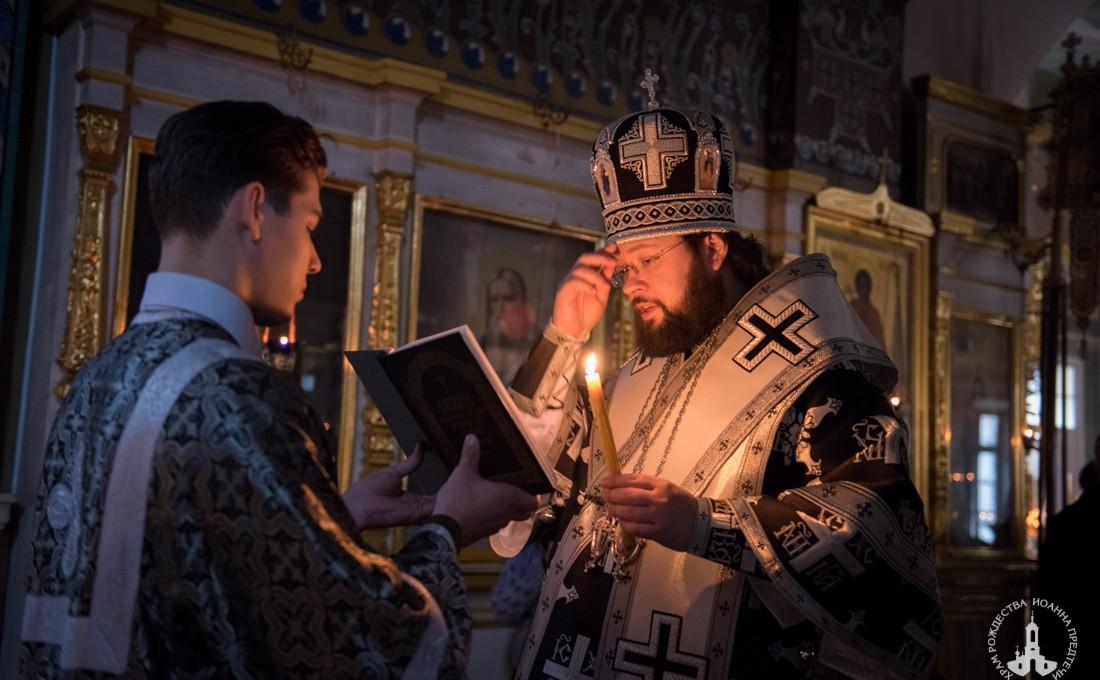 Епископ Антоний совершил Литургию Преждеосвященных Даров