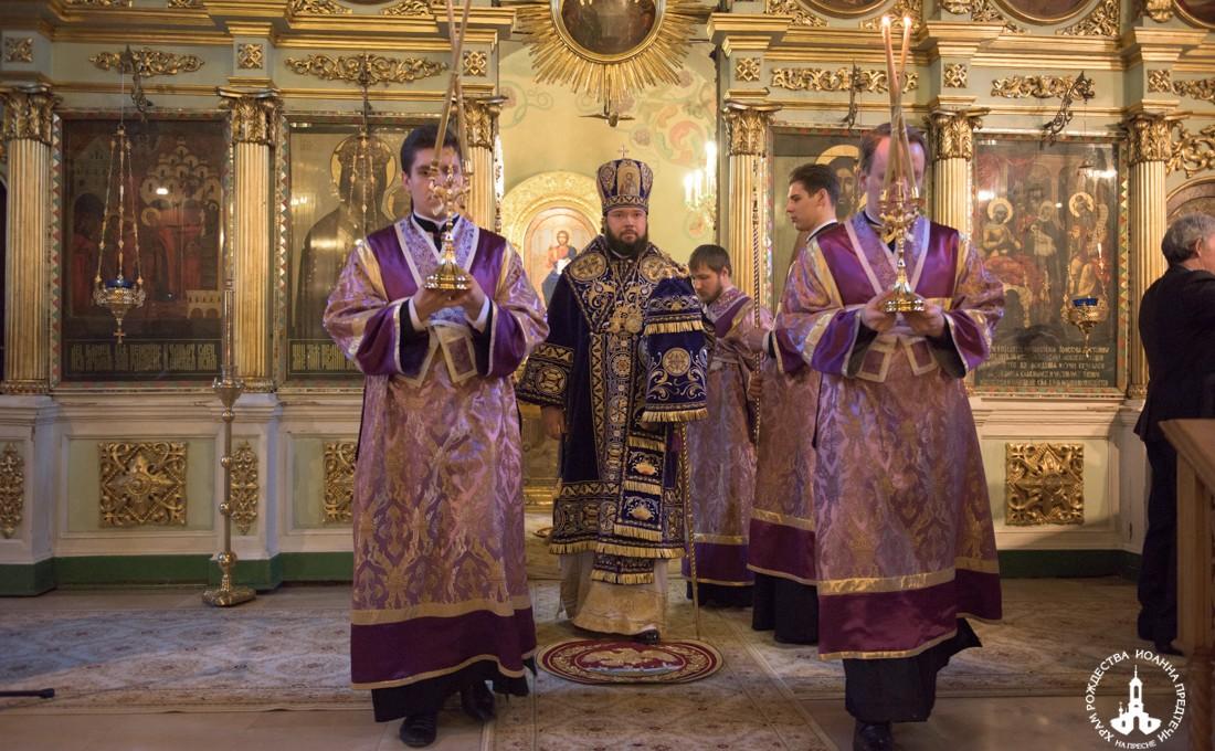 Всенощное бдение в канун Недели Торжества Православия