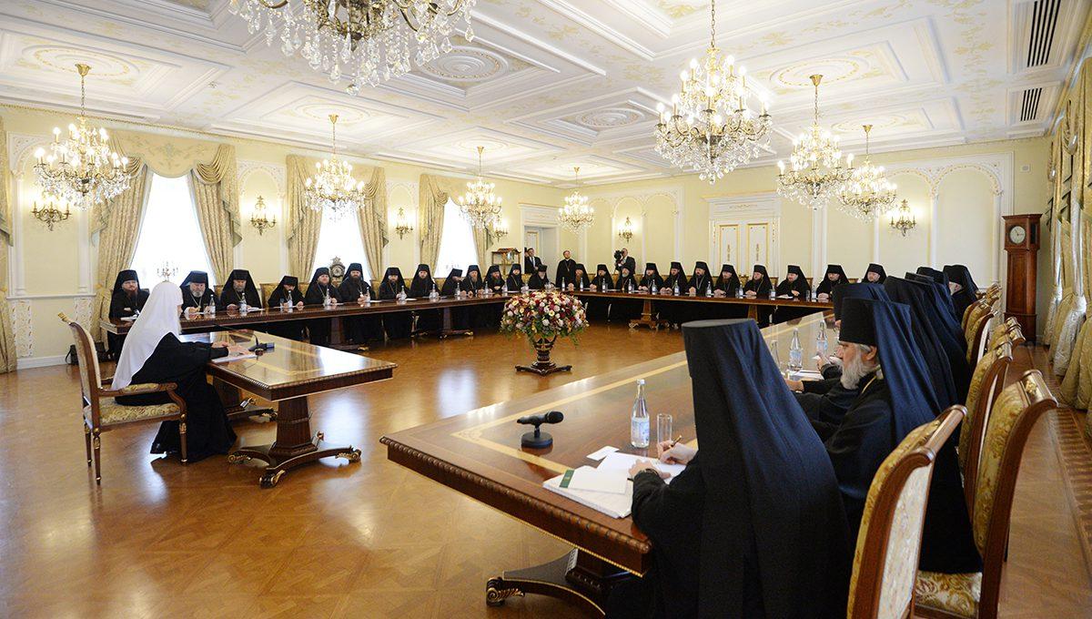 Святейший Патриарх Кирилл встретился со слушателями курсов повышения квалификации для новопоставленных архиереев