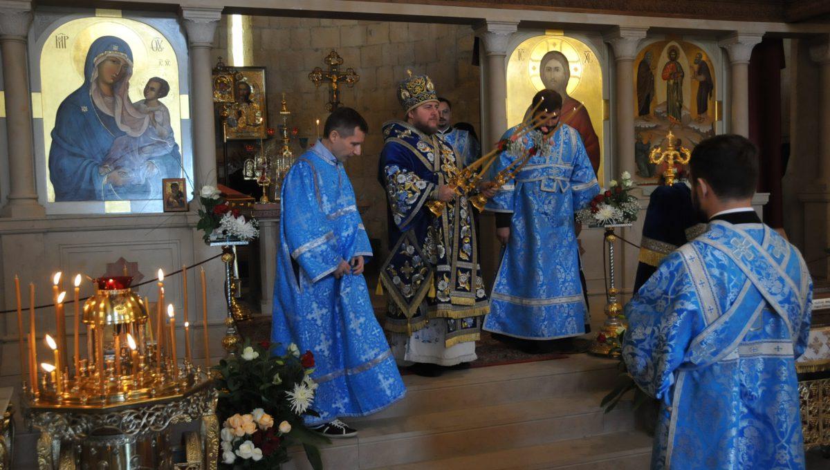 Епископ Богородский Матфей возглавил торжества в Тарквинии
