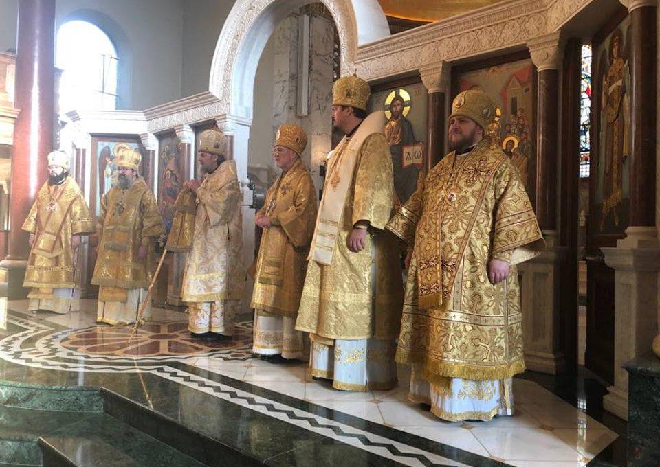 Празднование 55-летия образования Сурожской епархии
