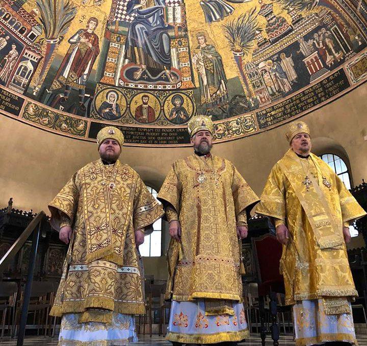 Престольный праздник Свято-Амвросиевского прихода в Милане