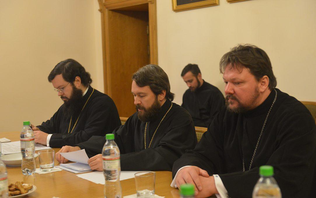 Епископ Богородский Иоанн принял участие в заседании комиссии по обсуждению вопросов жизни епархий и приходов в дальнем зарубежье