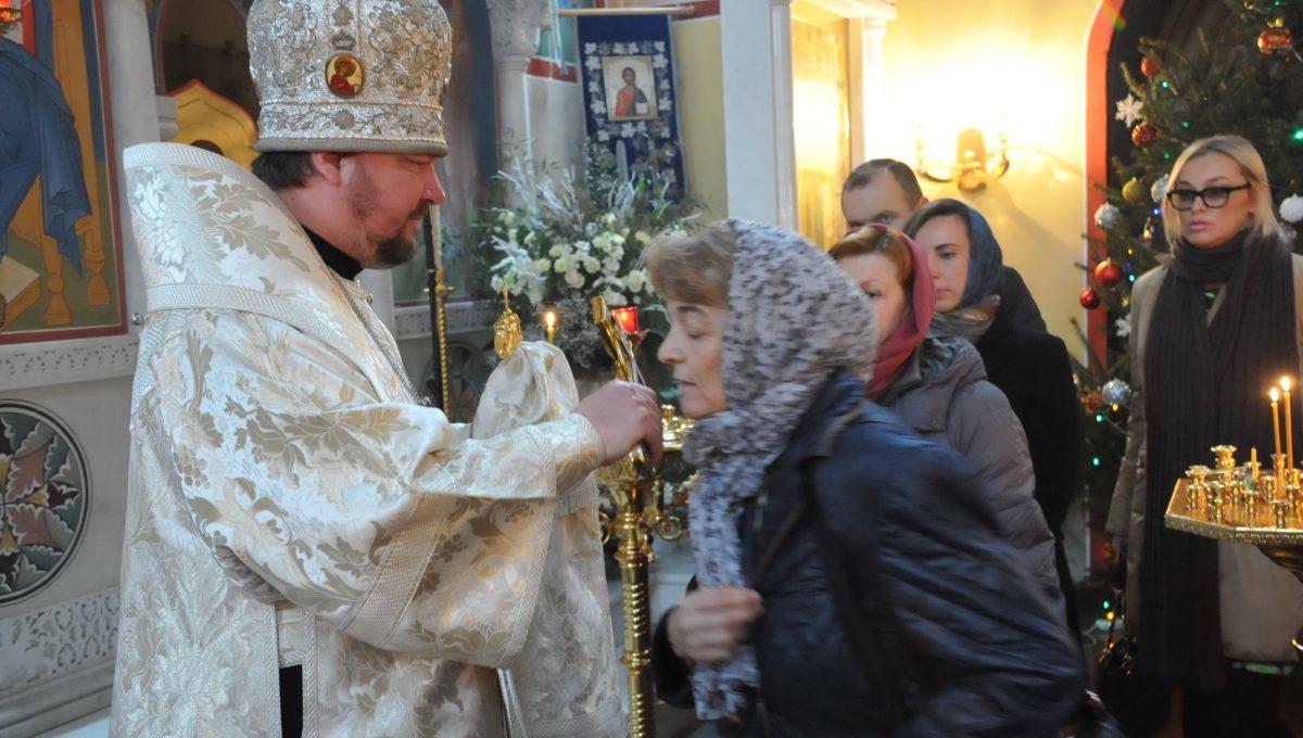 Митрополит Иоанн совершил воскресную литургию