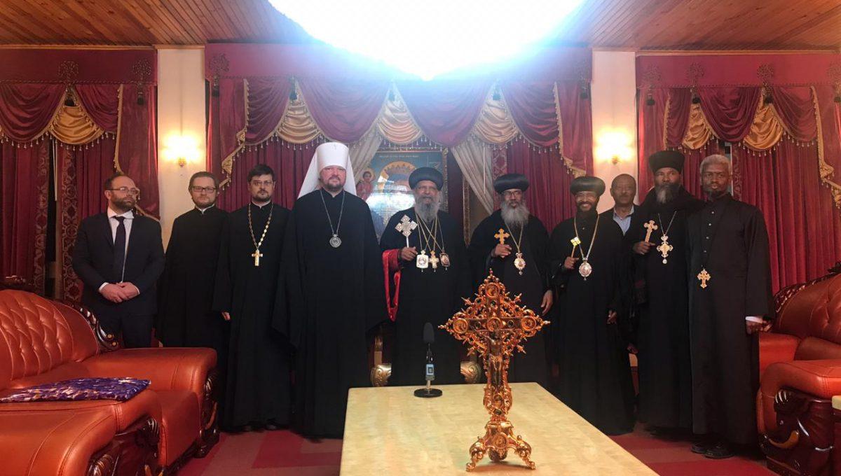 Митрополит Корсунский Иоанн принял участие в заседании двусторонней Комиссии по диалогу c Эфиопской Церковью