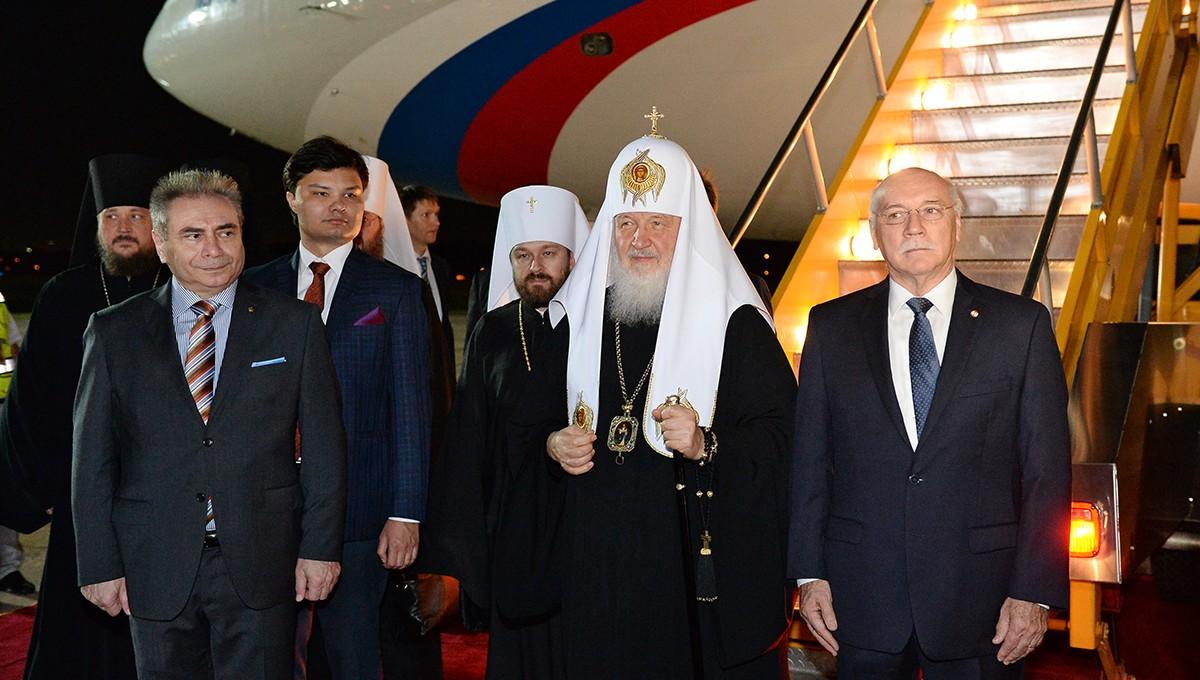 Святейший Патриарх Кирилл прибыл в столицу Парагвая
