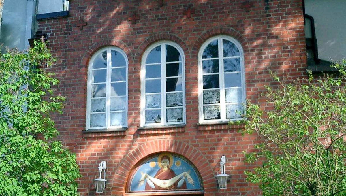 Всенощное бдение в Покровском храме г.Хельсинки