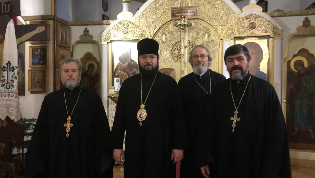 Епископ Антоний посетил Свято-Николаевский приход г.Хельсинки