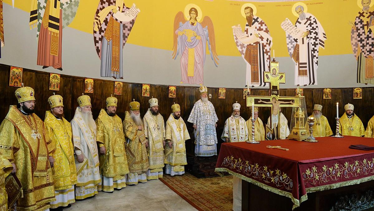 Литургия в соборе святого Павла в Сан-Паулу