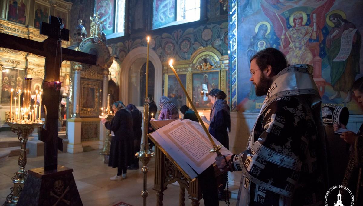 Епископ Антоний совершил Пассию