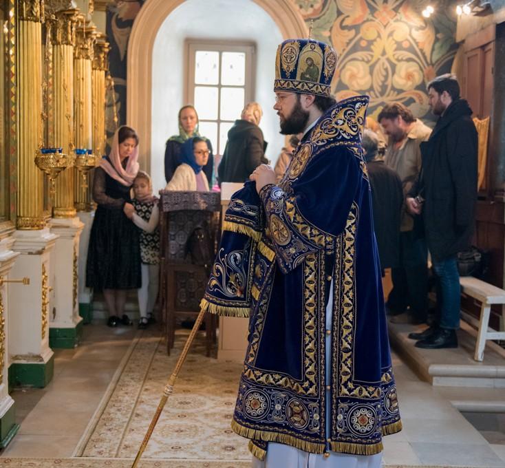 Епископ Антоний совершил богослужения Великого Четверга