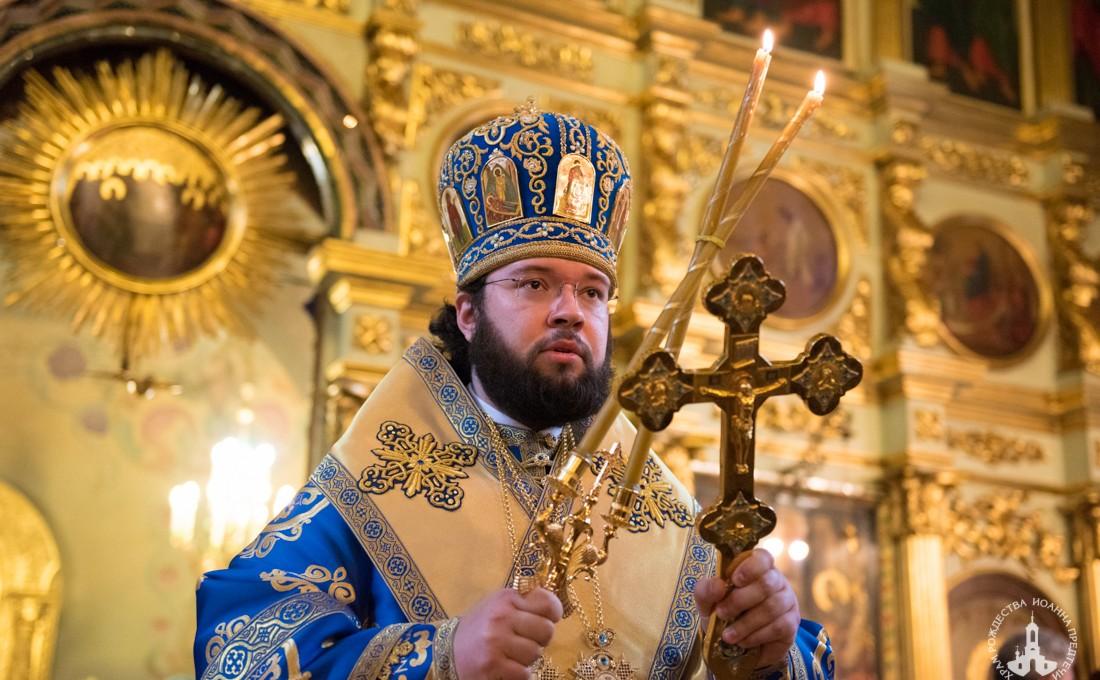 Литургия в праздник Благовещения Пресвятой Богородицы