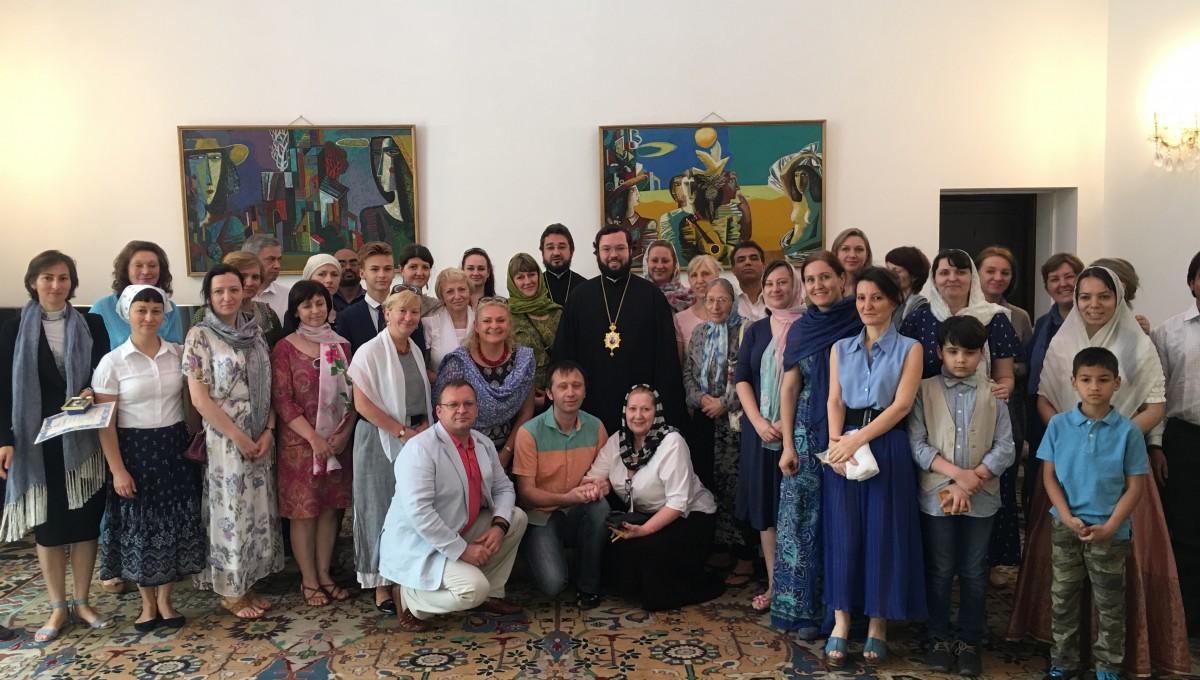 Епископ Антоний совершил богослужение в Дели