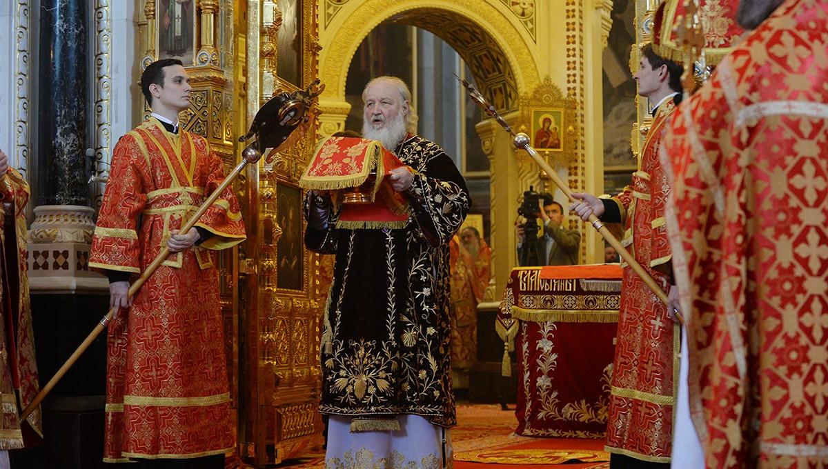 День Тезоименитства Святейшего Патриарха Кирилла