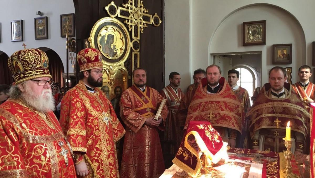 Престольный праздник Воскресенского собора в Берлине