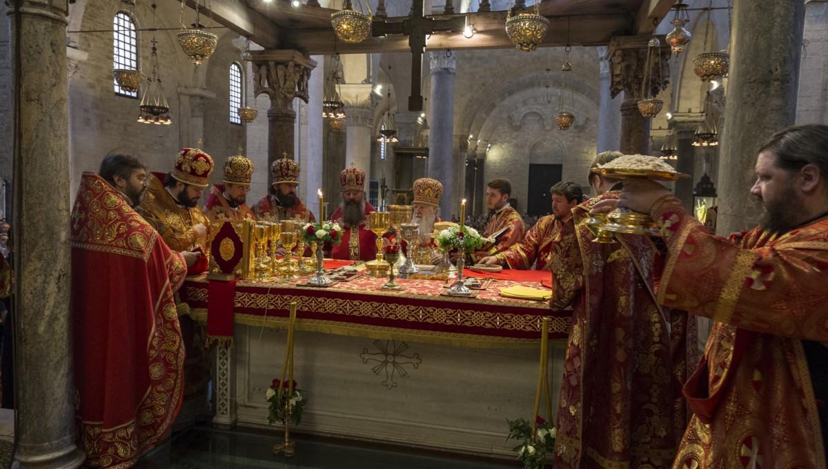 Память святителя Николая Чудотворца отметили в Бари