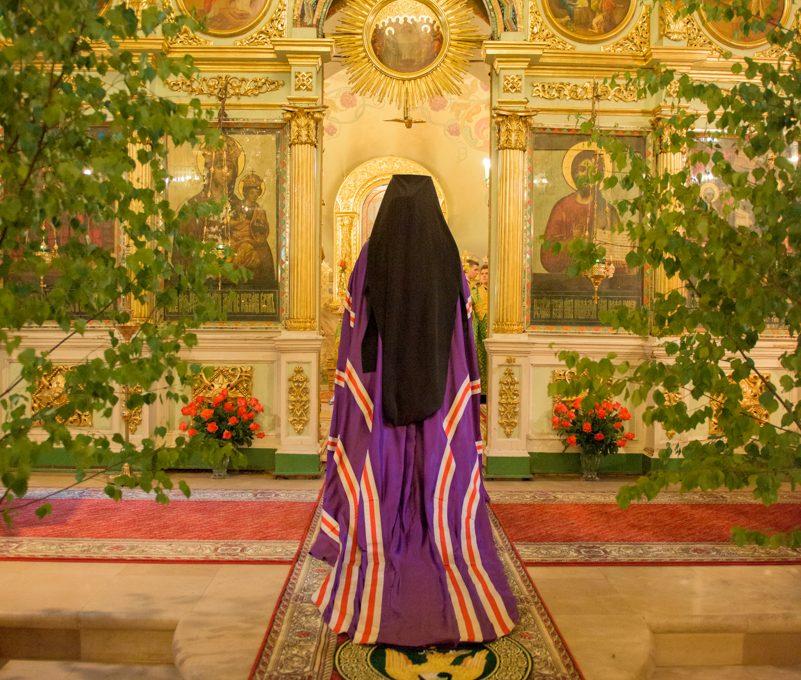 Всенощное бдение в канун Дня Святой Троицы