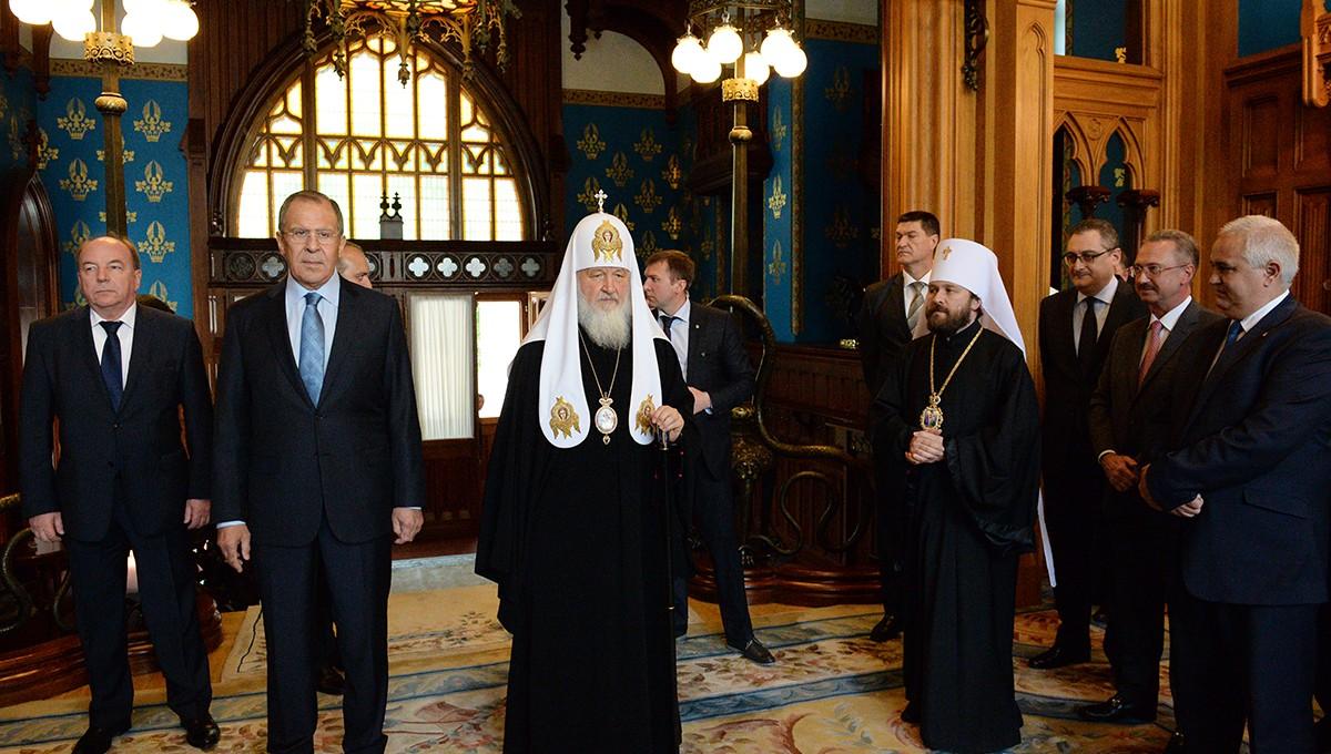 Пасхальный прием в Министерстве иностранных дел РФ
