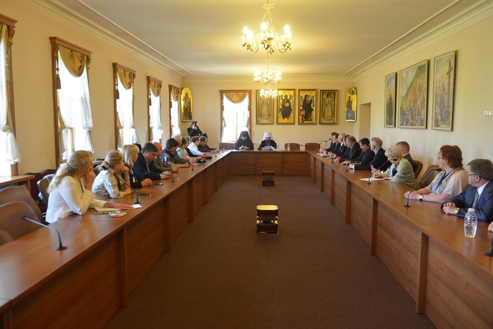 Встреча с членами Всемирного координационного совета российских соотечественников