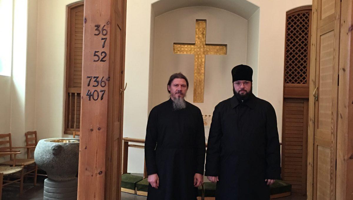 Начался визит епископа Антония в Данию