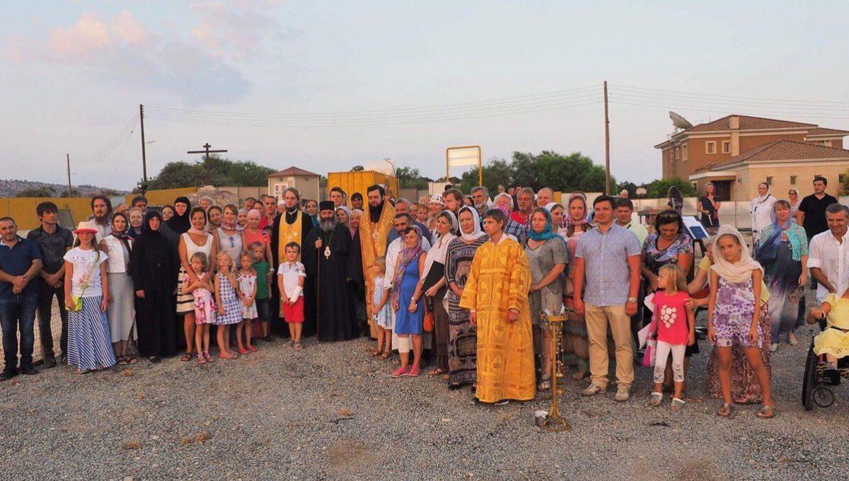 Епископ Антоний посетил Кипр