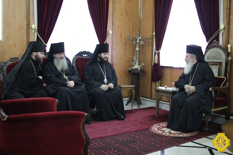 Епископ Антоний посетил Святую Землю