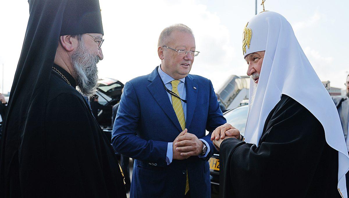Начался пастырский визит Святейшего Патриарха Кирилла в Великобританию