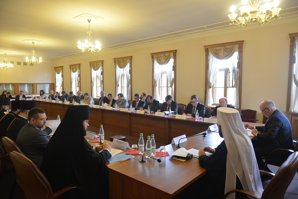 Заседание Рабочей группы по взаимодействию Русской Православной Церкви и МИД России