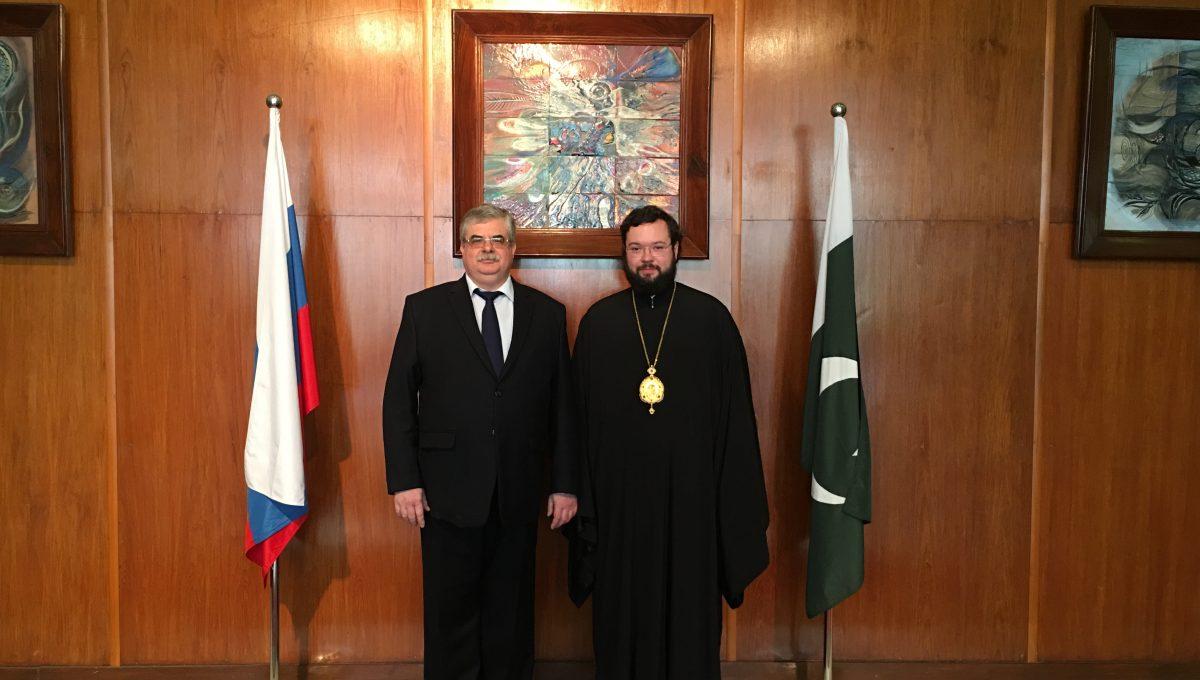 Начался визит епископа Антония в Пакистан