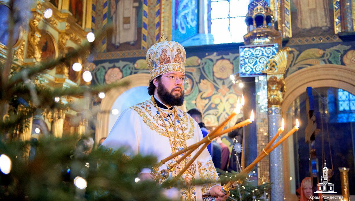 Архипастырский визит епископа Венского и Будапештского Антония