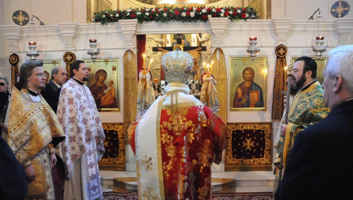 Престольный праздник прихода Константинопольского Патриархата в Риме