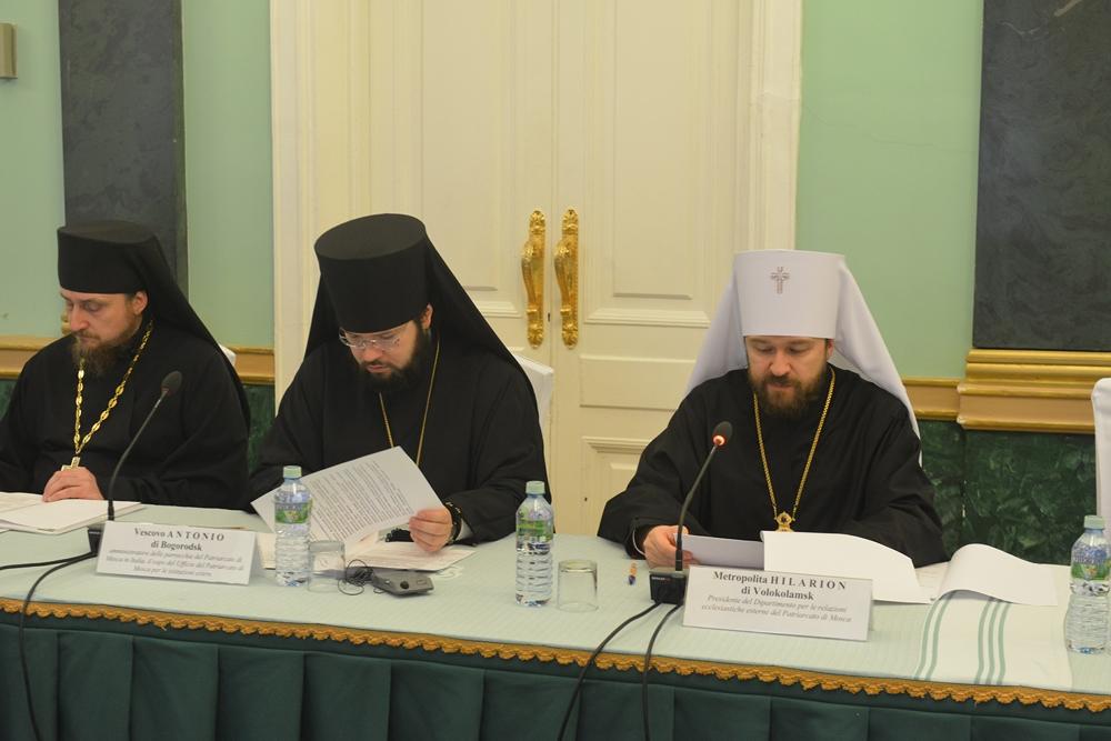 Заседание рабочей группы Русской Православной Церкви и Римско-Католической Церкви Италии