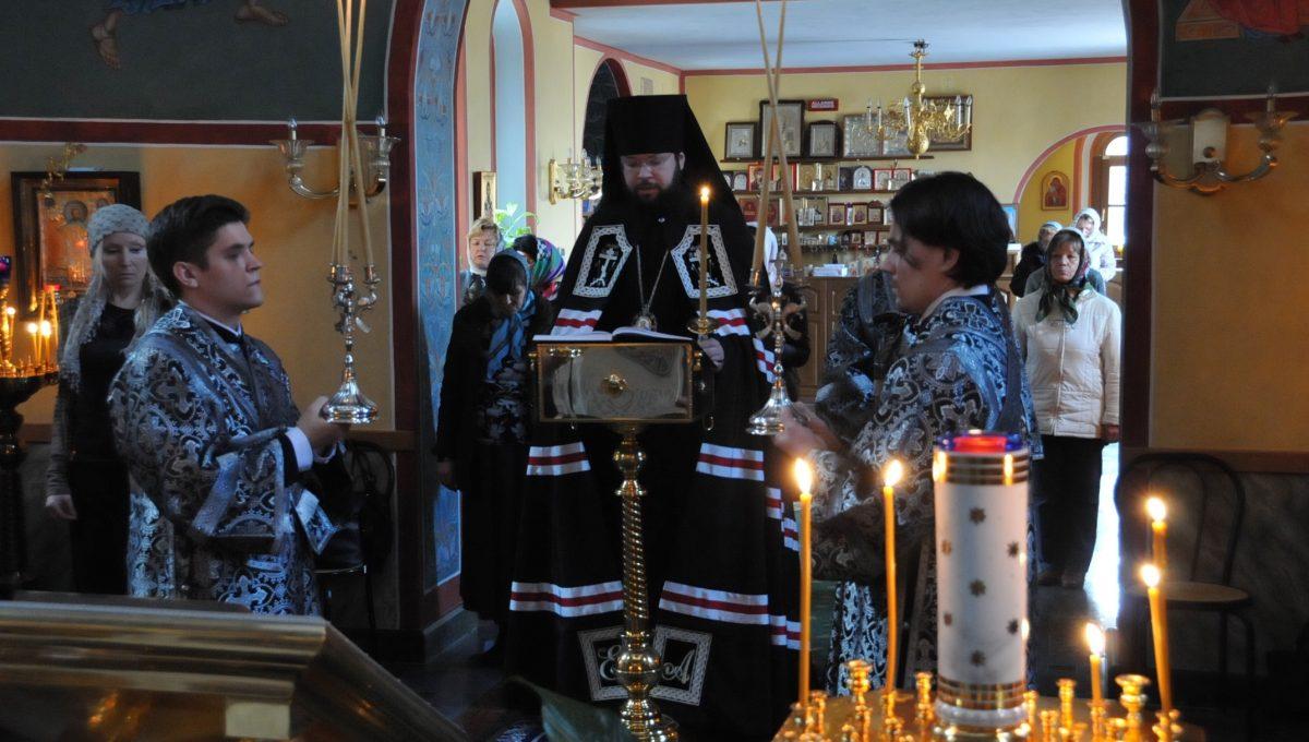 Епископ Богородский Антоний совершил чтение Великого Покаянного Канона св. Андрея Критского