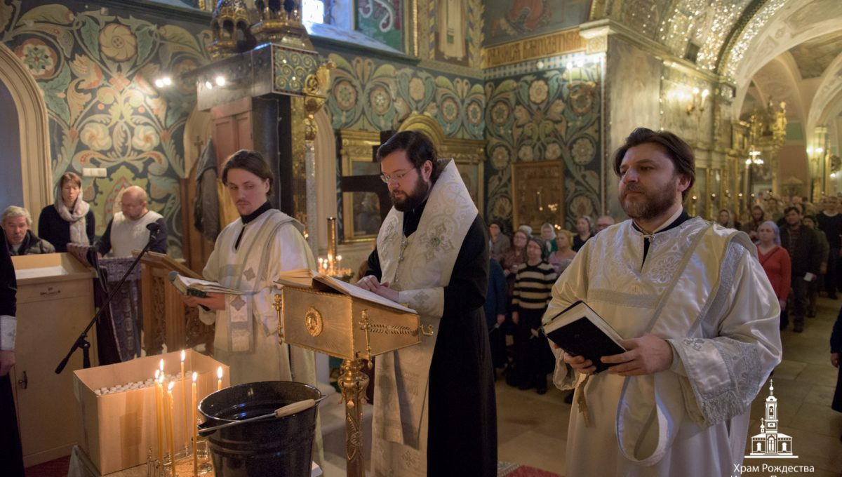 Епископ Антоний совершил Таинство Соборования