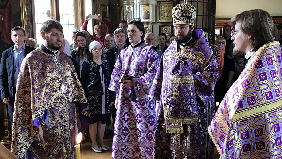 Архиерейское богослужение в Мерано
