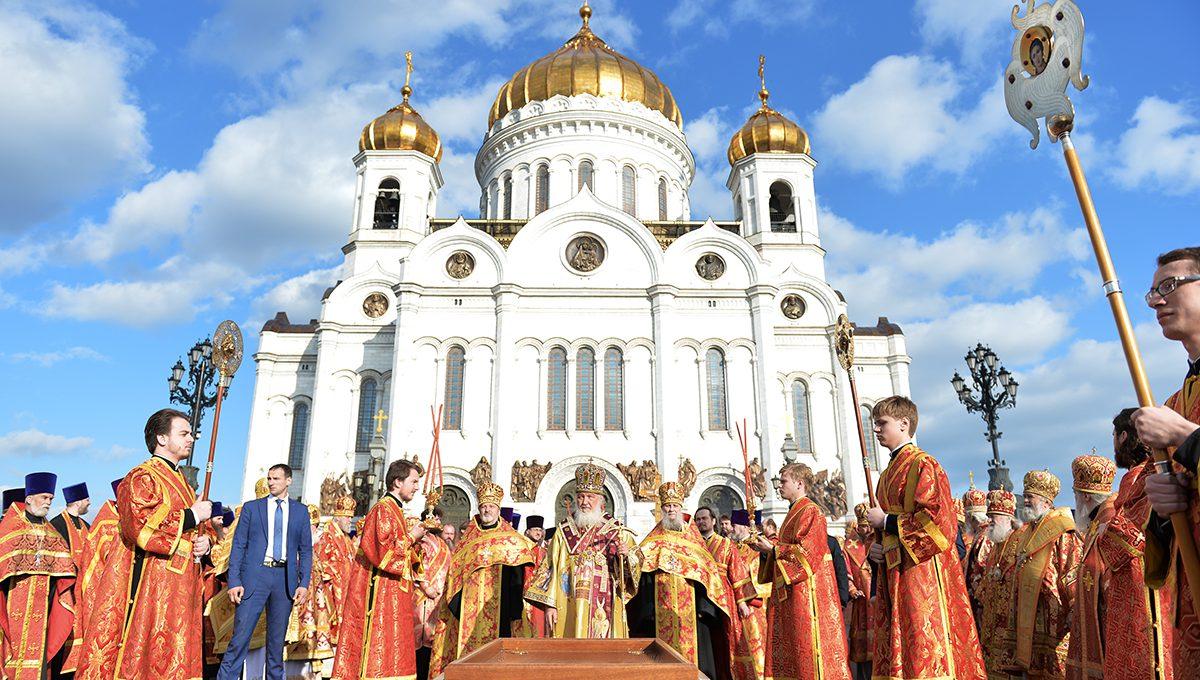Встреча мощей святителя Николая Чудотворца