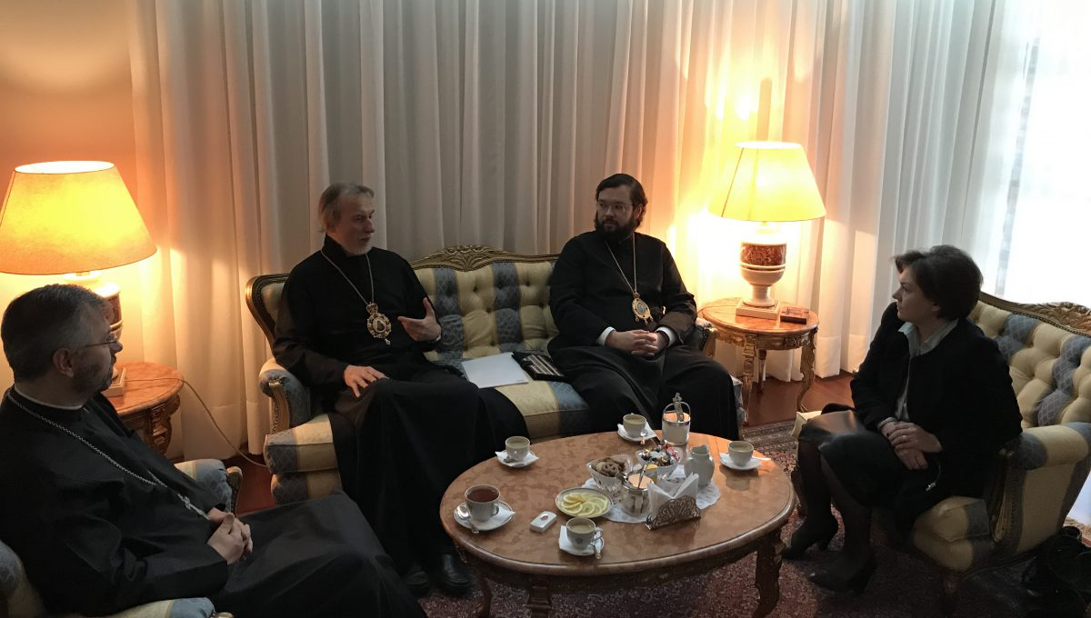 Встреча с руководителем РЦНК в Чили