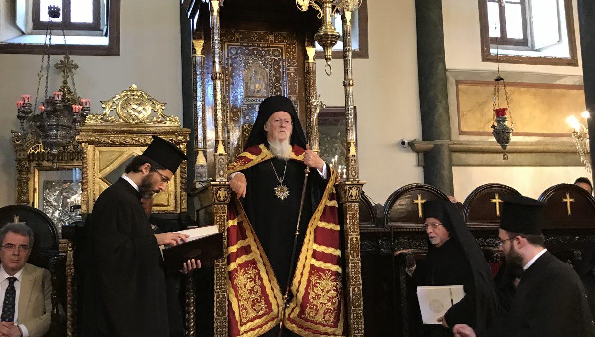 День Тезоименитства Святейшего Патриарха Константинопольского Варфоломея