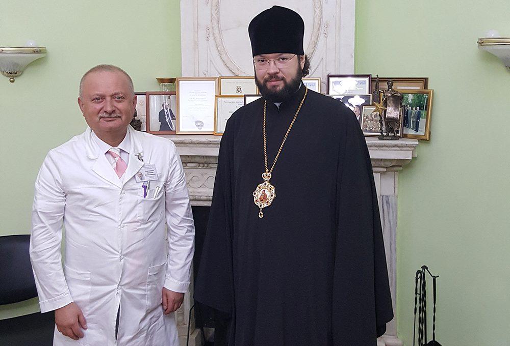 Епископ Антоний посетил детскую больницу им.Сперанского