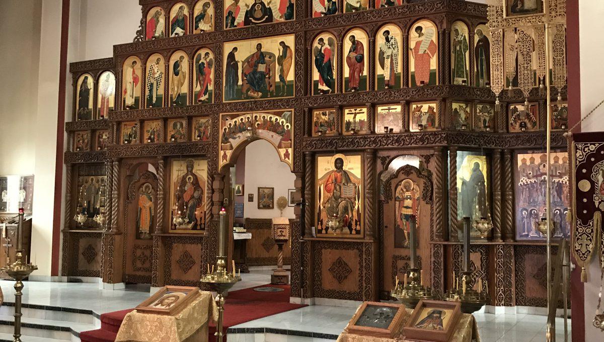 Посещение Покровского храма в Оттаве