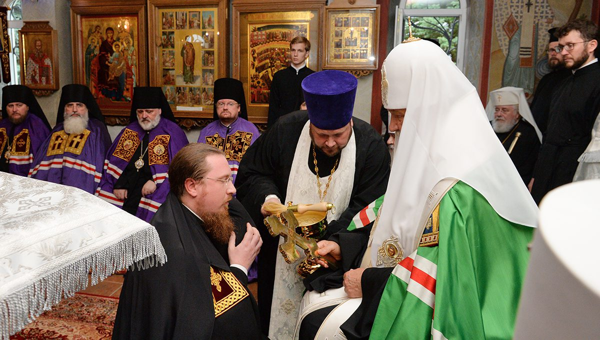 Епископ Богородский Матфей принял участие в наречении архимандрита Феодорита (Тихонова) во епископа Скопинского