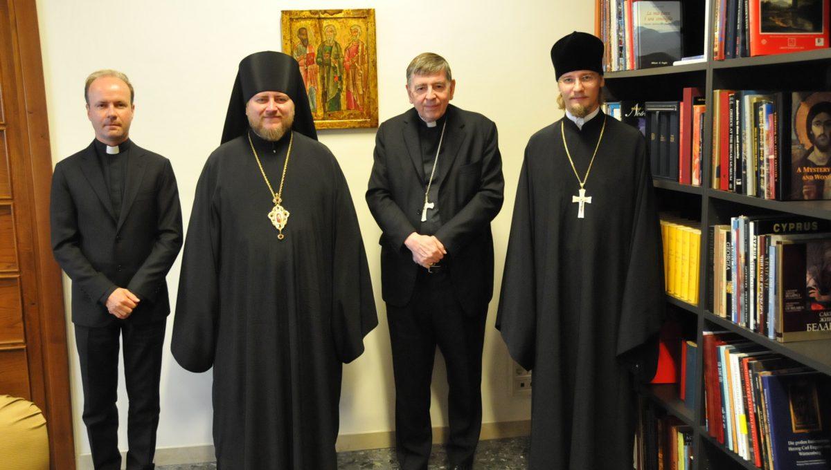 Епископ Богородский Матфей встретился с кардиналом Куртом Кохом