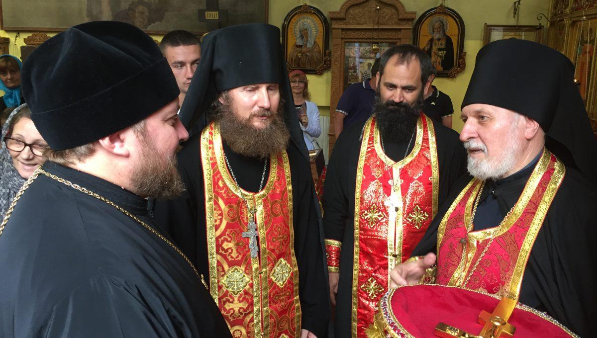 Епископ Богородский Матфей посетил приход свв. Сергия Радонежского, Серафима Саровского и Викентия Сарагосского в Милане
