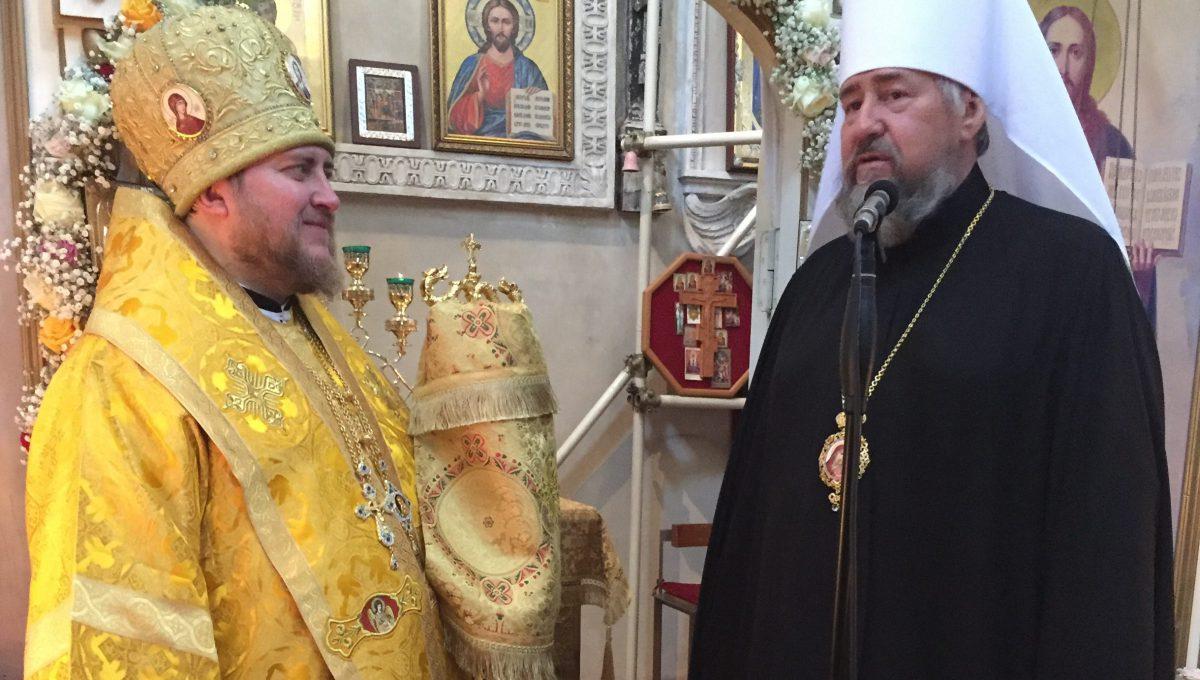 Епископ Богородский Матфей совершил Божественную Литургию в Милане