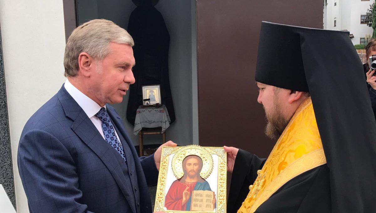 Преосвященный Матфей прибыл с визитом в столицу Южного Тироля г. Больцано