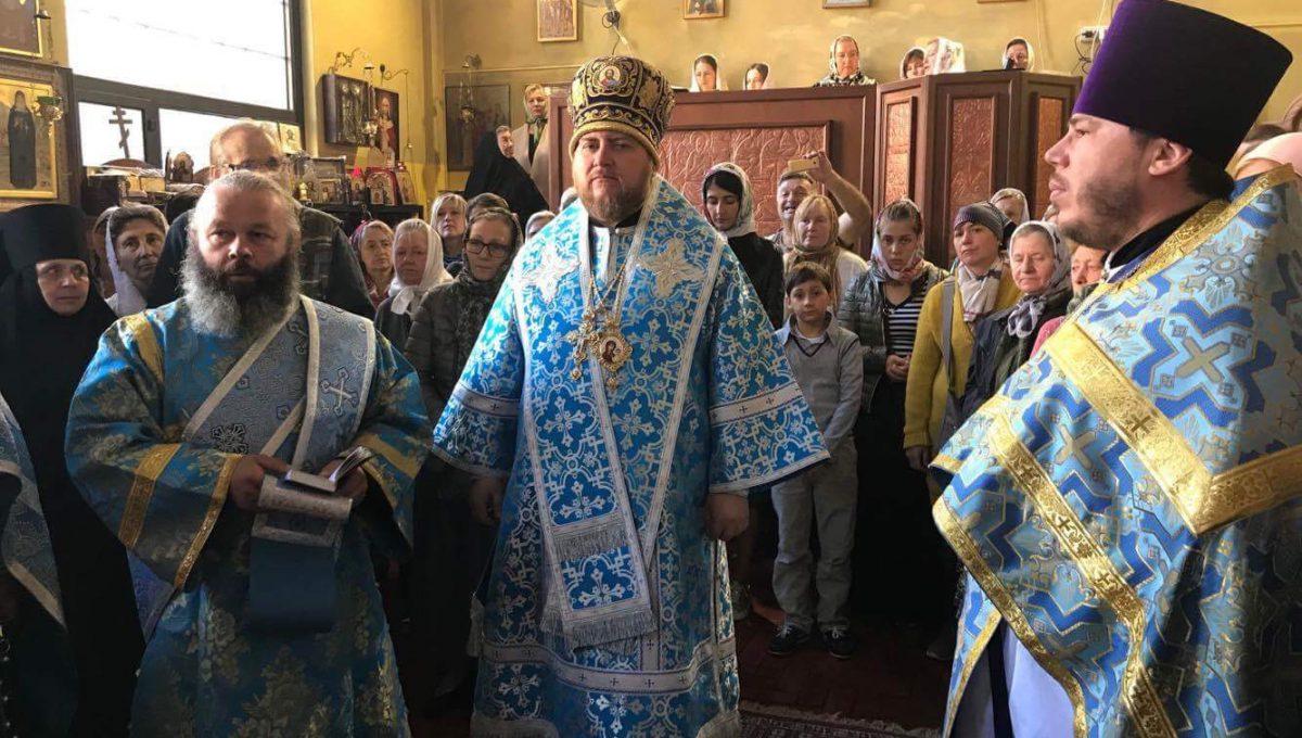 Епископ Богородский Матфей совершил Божественную Литургию в день празднования Рождества Божией Матери
