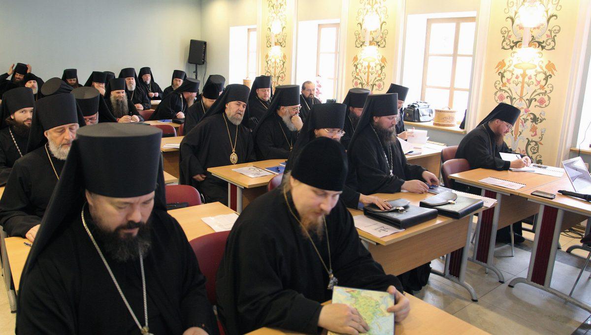 В Новоспасском монастыре начались Курсы повышения квалификации для новопоставленных архиереев