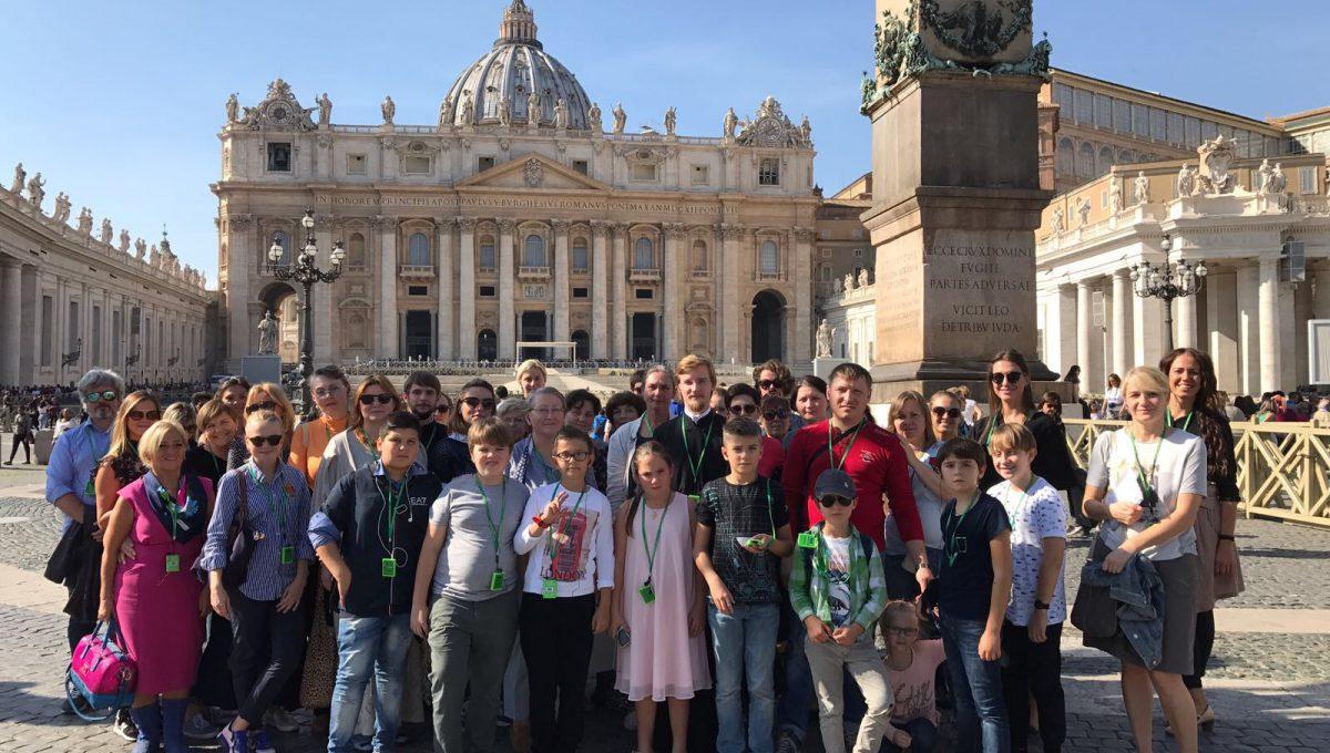 Состоялось паломничество к святыням собора Святого Петра